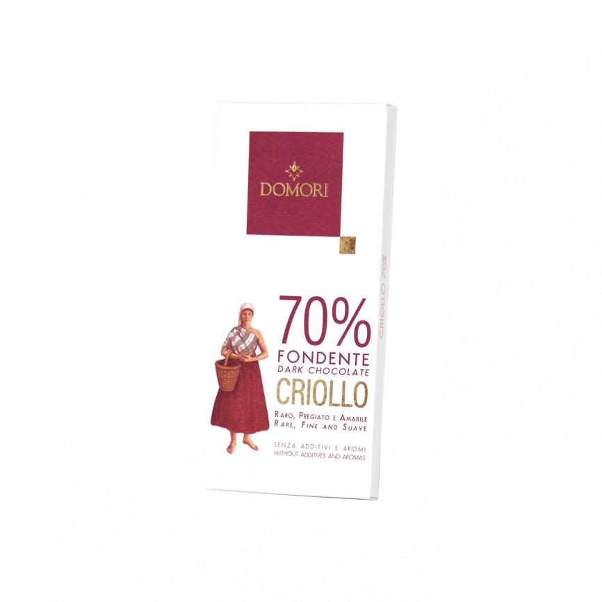 Tavoletta Criollo Cacao 70%