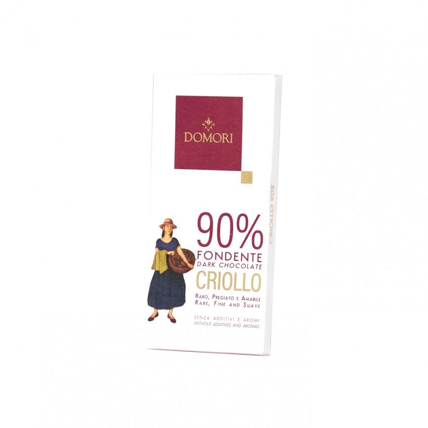 Tavoletta Criollo Cacao 90%