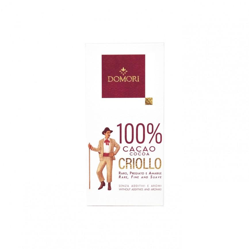 Tavoletta Criollo Cacao 100%