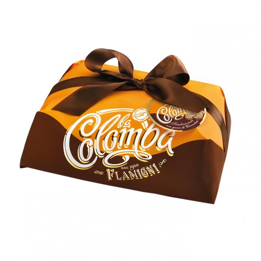Colomba Tradizionale con Gocce di Cioccolato