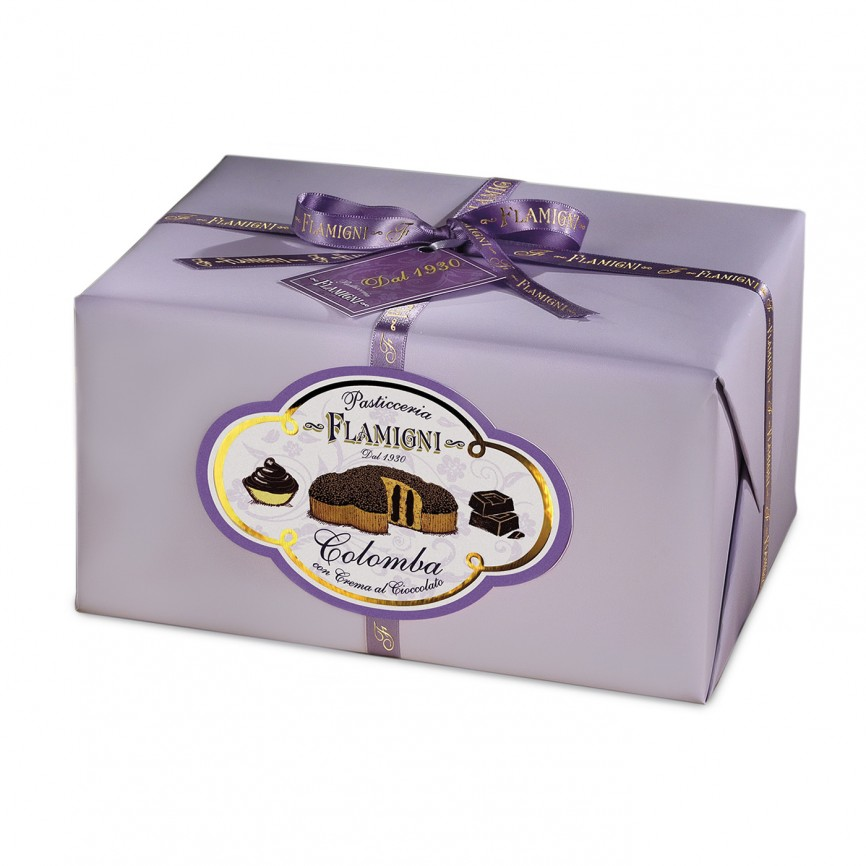 Colomba Farcita Al Cioccolato Fondente