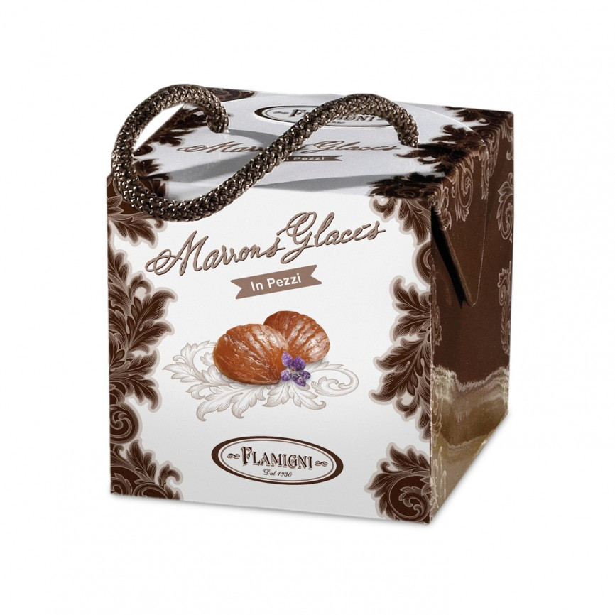 Marrons Glacés Pezzi In Cofanetto