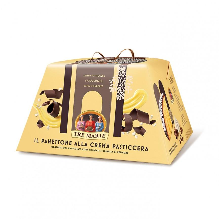 Panettone alla Crema e Cioccolato