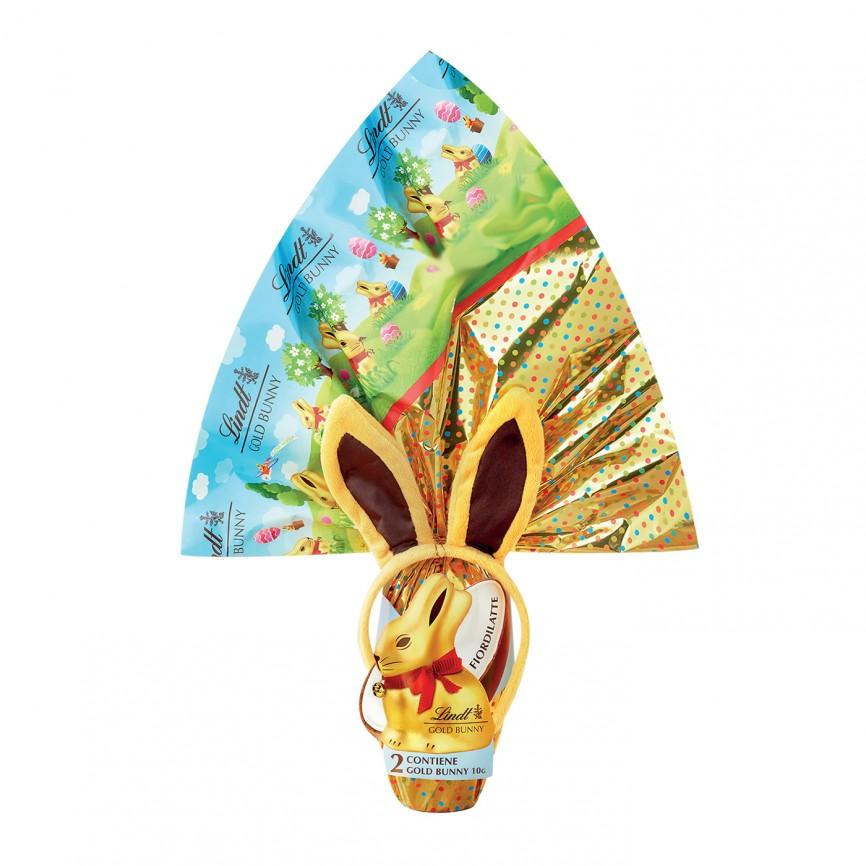 Uovo Gold Bunny Fiordilatte